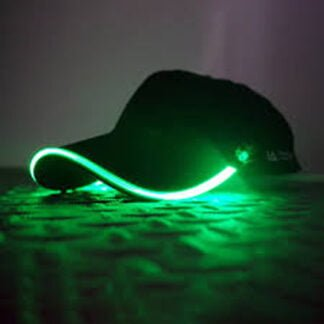 Whirligig Toys - Electric Green Light Up Baseball Cap2