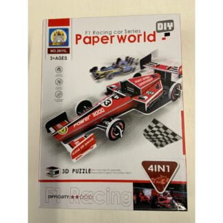 Whirligig Toys - F1 Racing Cars Paper Models1