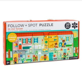 Whirligig Toys - Follow And Spot House Jigsaw1