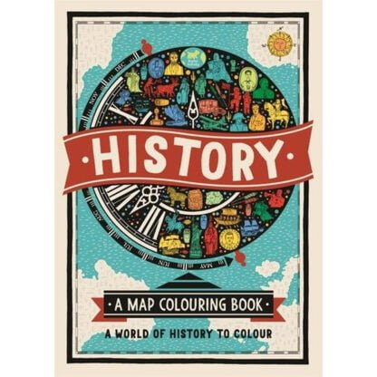 Whirligig Toys - History Map Colouring Book1