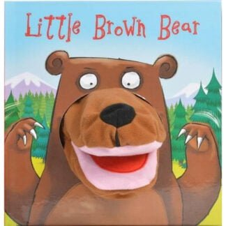 Whirligig Toys - Little Brown Bear Hand Puppet Book1