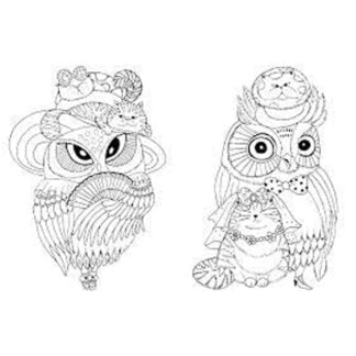 Whirligig Toys - Million Owls Colouring Book2