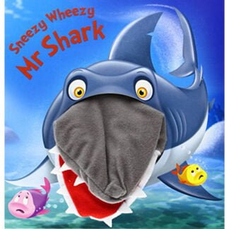 Whirligig Toys - Mr Shark Hand Puppet Book1
