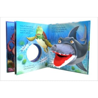 Whirligig Toys - Mr Shark Hand Puppet Book2