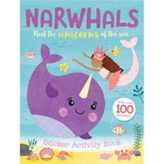 Whirligig Toys - Narwhal Colouring Book1