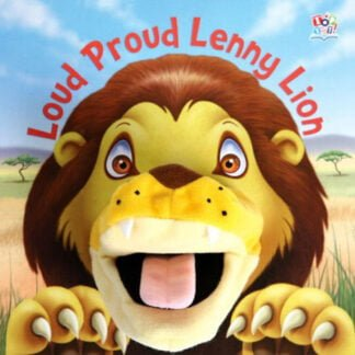 Whirligig Toys - Proud Lenny Lion Hand Puppet Book1