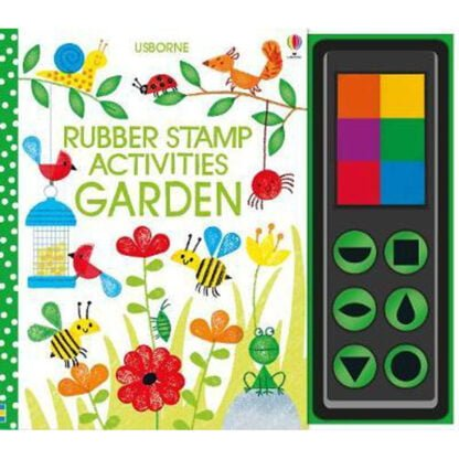 Whirligig Toys - Rubber Stamps Garden Activities1