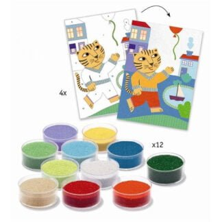 Whirligig Toys - Sand Art Animal Fun2