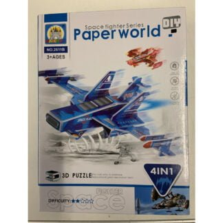 Whirligig Toys - Space Fighters Paper Models1