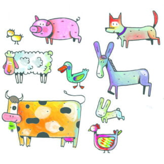Whirligig Toys - Farm Stamps2