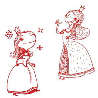Whirligig Toys - Princess Stamps2