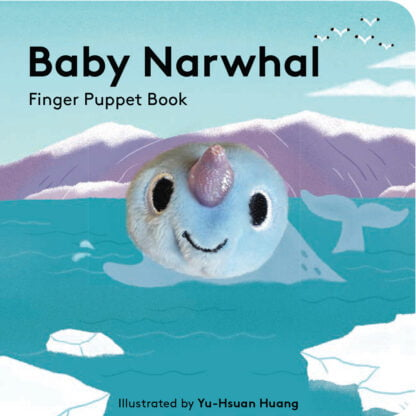 Whirligig Toys - Baby Narwhal Finger Puppet Book1