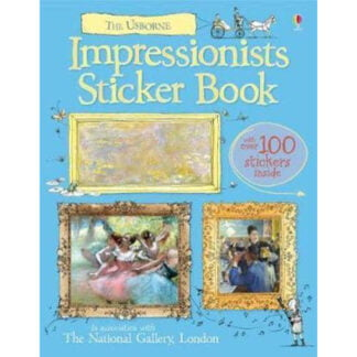 Whirligig Toys - Impressionists Sticker Book1