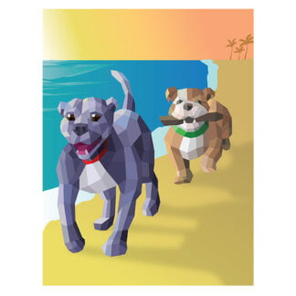 Whirligig Toys - Dogs Paint By Stickers3