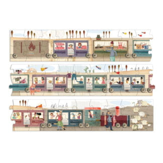 Whirligig Toys - Longest Train Jigsaw2