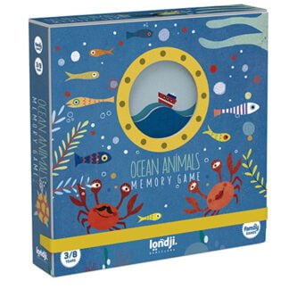 Whirligig Toys - Ocean Animal Memory Game1