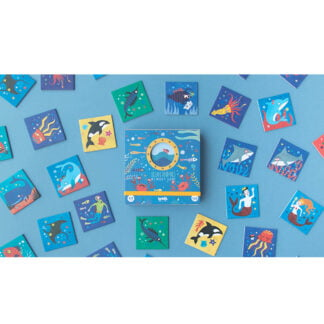 Whirligig Toys - Ocean Animal Memory Game2