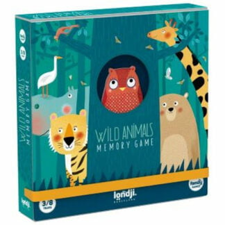 Whirligig Toys - Wild Animal Memory Game1