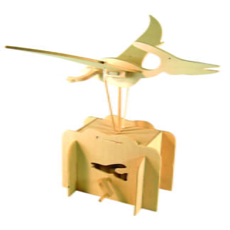 Whirligig Toys - Wooden Flying Pteranodon2