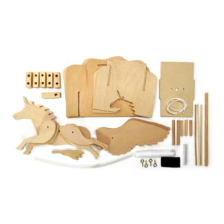 Whirligig Toys - Wooden Flying Unicorn3