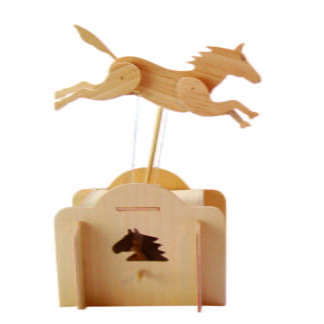 Whirligig Toys - Wooden Jumping Horse2