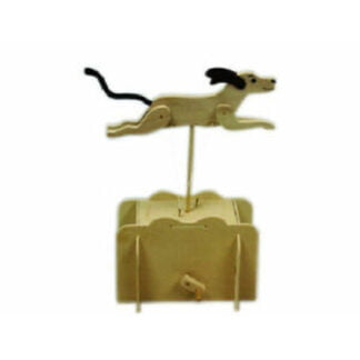 Whirligig Toys - Wooden Running Dog2