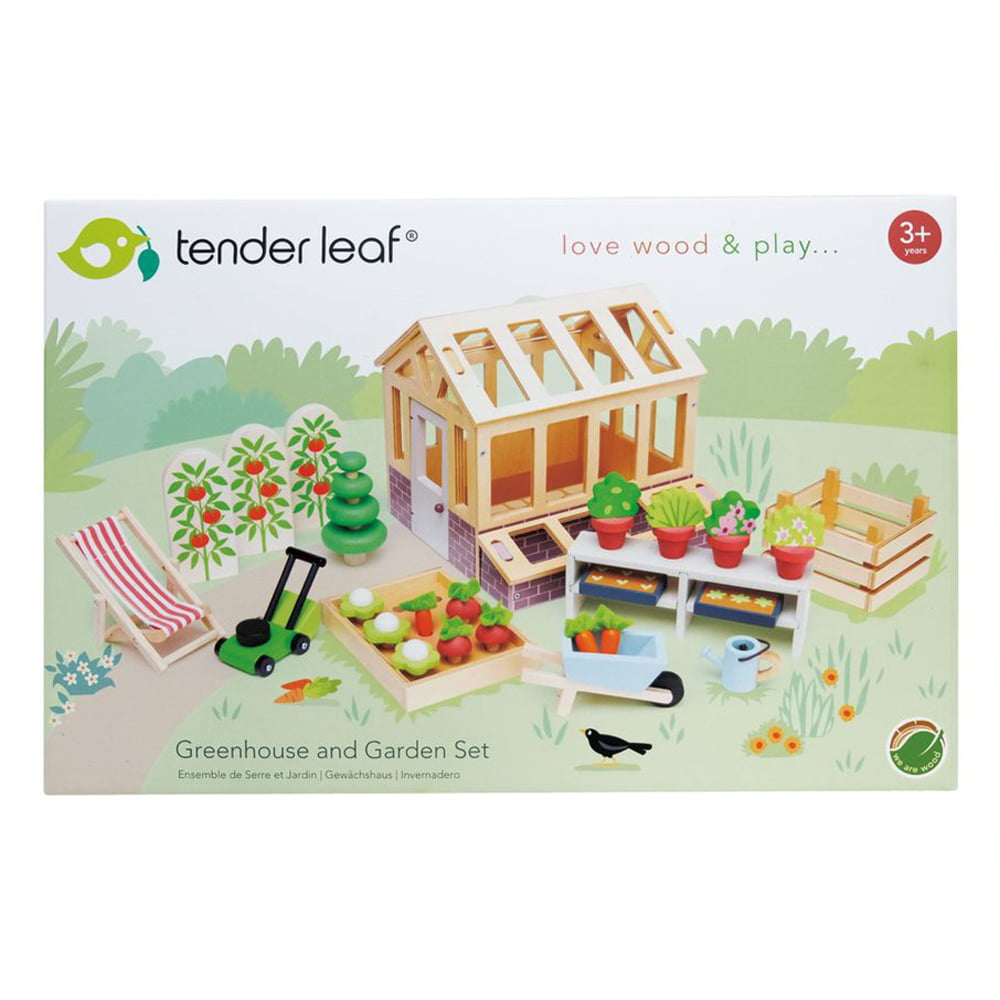 Whirligig Toys - Greenhouse and Garden Set1