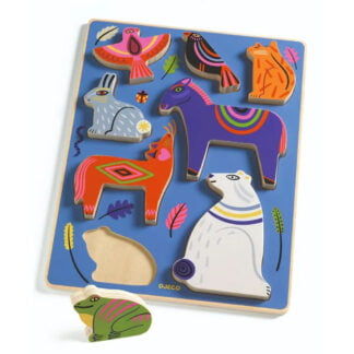 Whirligig Toys - Wooden Puzzle Nora1