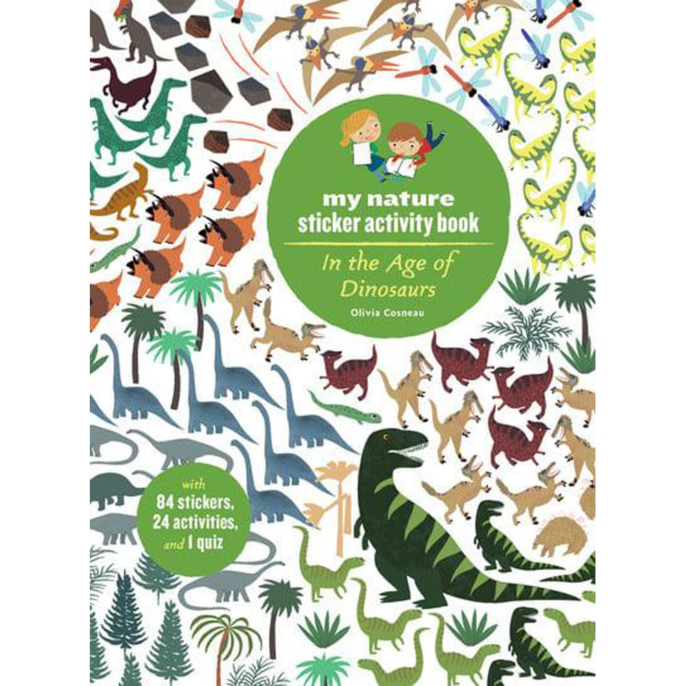 Whirligig Toys - Age Of Dinosaurs Stickerbook1