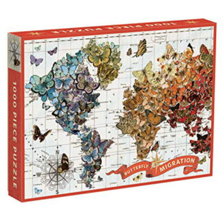 Whirligig Toys - Butterfly Migration Jigsaw1