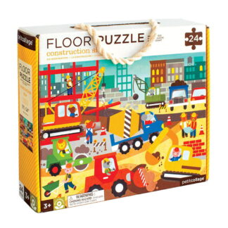 Whirligig Toys - Construction Site Floor Puzzle1