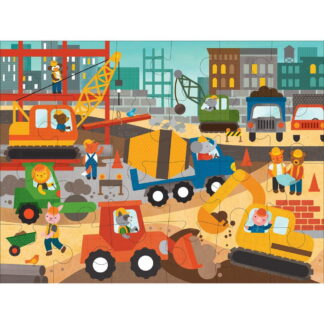 Whirligig Toys - Construction Site Floor Puzzle2