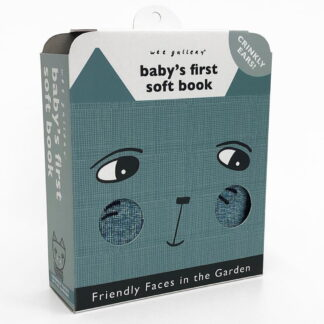 Whirligig Toys - Friendly Faces In The Garden Cloth Book1