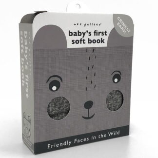 Whirligig Toys - Friendly Faces In The Wild Cloth Book1