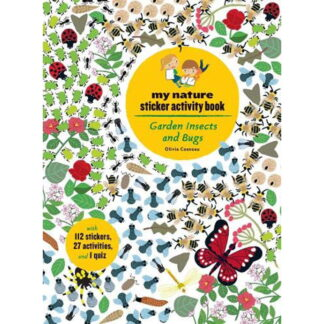 Whirligig Toys - Garden Insects and Bugs Stickerbook1