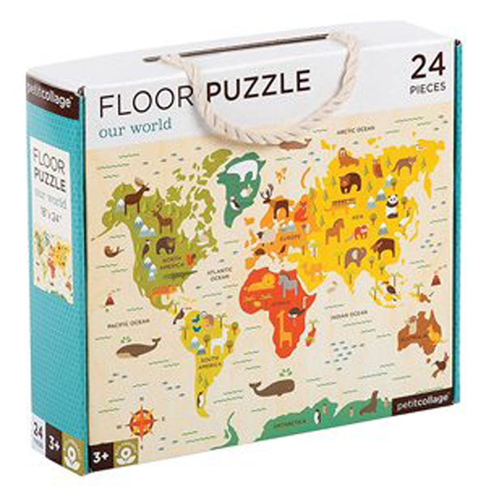 Whirligig Toys - Our World Floor Puzzle1