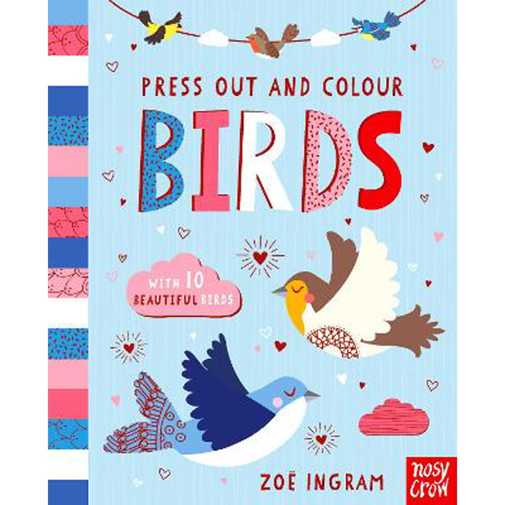 Whirligig Toys - Press Out Birds1