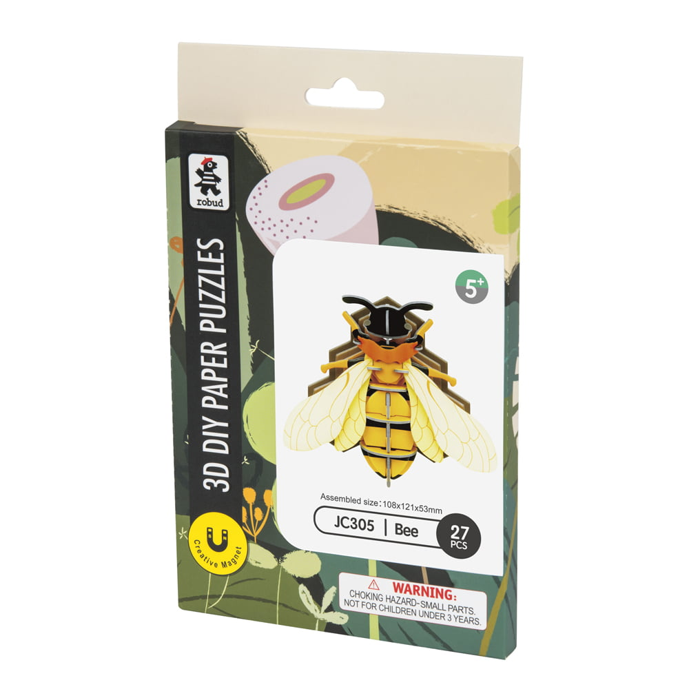 Whirligig Toys - Bee Paper Puzzle1