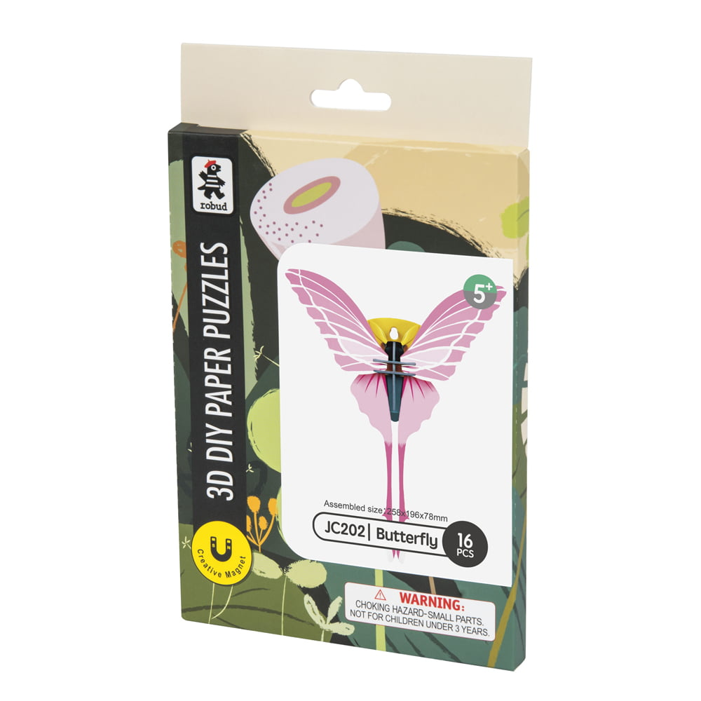 Whirligig Toys - Butterfly Paper Puzzle1