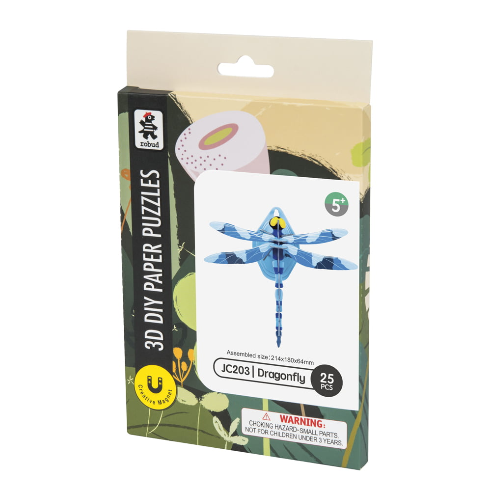 Whirligig Toys - Dragonfly Paper Puzzle1