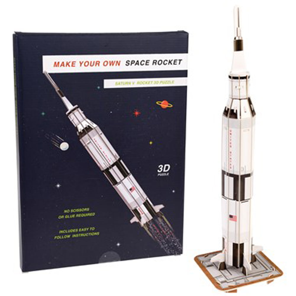 Whirligig Toys - Make Your Own Space Rocket2