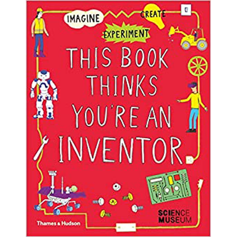 Whirligig Toys - This Book Thinks You're An Inventor1
