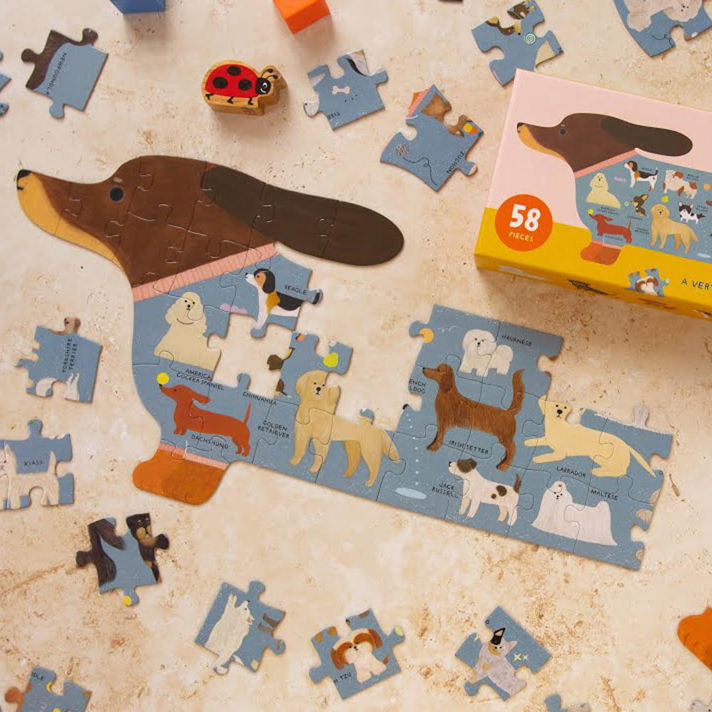 Whirligig Toys - A-Z Of Dogs Jigsaw2