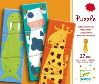 Mix & Match Animal Puzzle - Djeco