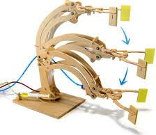 Hydraulic Robotic Arm Model