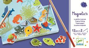 Magnetic Fishing Tropic Game - Djeco