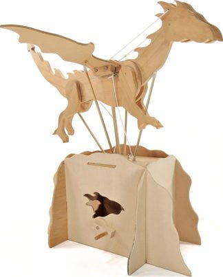 Flying Dragon - Wooden automaton