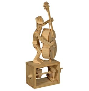 Double Bass - Wooden Automaton
