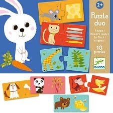 Matching Dinnertime Puzzles - Djeco