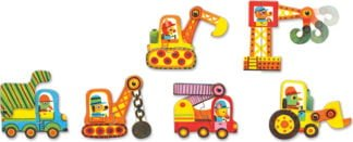 Matching Vehicles Puzzles - Djeco